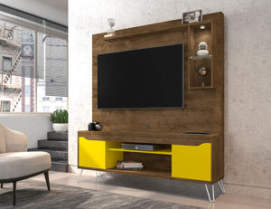 Baxter Freestanding LED Light Entertainment Center
