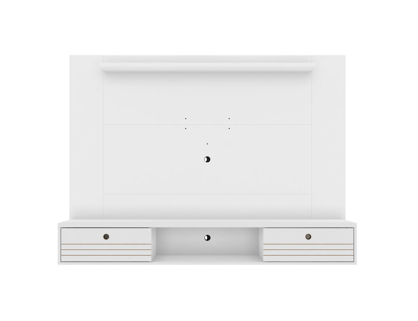 Liberty Floating Entertainment Center in White