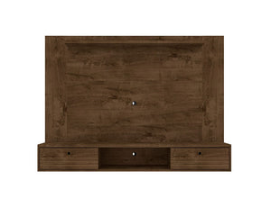 Liberty Floating Entertainment Center in Rustic Brown
