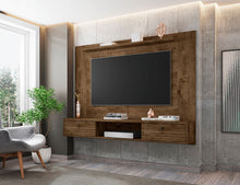 Load image into Gallery viewer, Liberty Floating Entertainment Center in Rustic Brown
