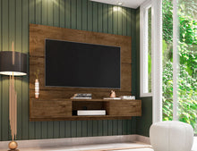 Load image into Gallery viewer, Vernon Floating Entertainment Center in Rustic Brown