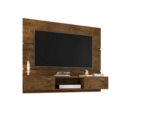 Vernon Floating Entertainment Center in Rustic Brown