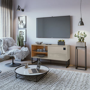 Loft TV Stand in Off White