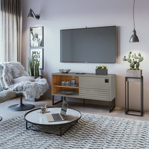 Loft TV Stand in Grey