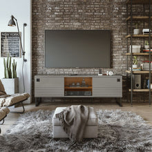 Load image into Gallery viewer, Loft TV Stand in Grey