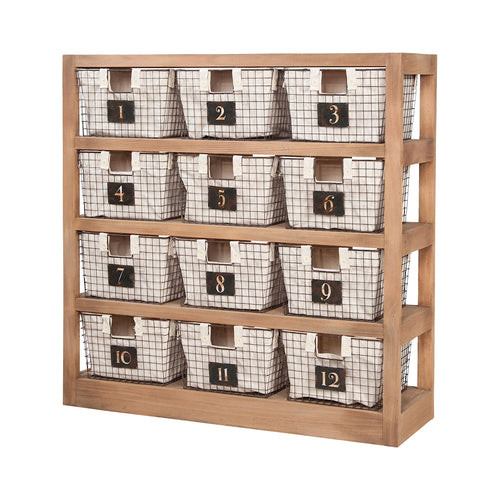 Basket Shelving Units