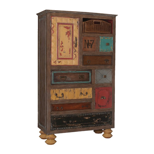 Mosaic Treasures Tall Chest