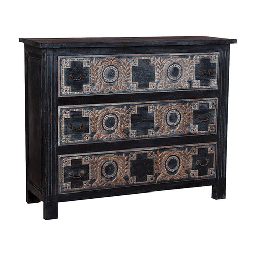 Moroccan 3 Drawer Chest