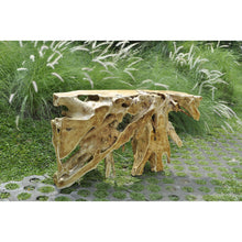 Load image into Gallery viewer, Teak Root Natural Console Table
