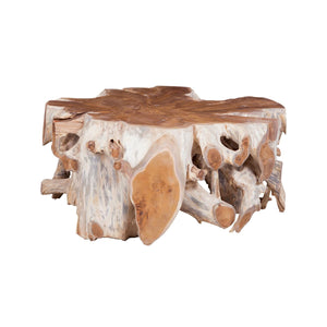Teak Root Carved Table