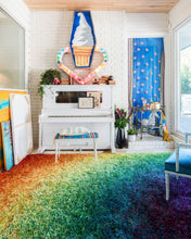 Load image into Gallery viewer, Loloi II Rug Barcelona Shag BS-01 Rainbow