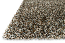 Load image into Gallery viewer, Loloi Rug Carrera Shag CG-02 Blue/Mocha