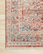 Load image into Gallery viewer, Loloi Rug Claire CLE-01 Red/Ivory