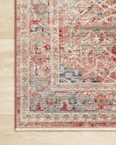 Loloi Rug Claire CLE-01 Red/Ivory