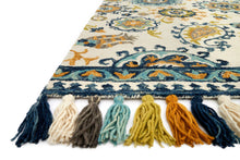 Load image into Gallery viewer, Loloi Rug Farrah FH-01 Ivory/Blue