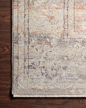 Load image into Gallery viewer, Loloi Rug Faye FAY-09 Denim/Rust