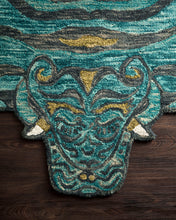 Load image into Gallery viewer, Justina Blakeney x Loloi Rug Feroz FER-03 Teal