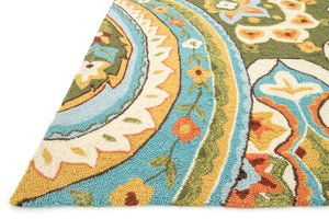 Loloi Rug Francesca FC-09 Blue/Green