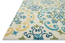 Load image into Gallery viewer, Loloi Rug Francesca FC-35 Ivory/LT. Blue