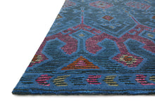 Load image into Gallery viewer, Justina Blakeney x Loloi Rug Gemology GQ-02 Blue/Plum