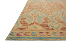Load image into Gallery viewer, Justina Blakeney x Loloi Rug Gemology GQ-02 Spice/Teal