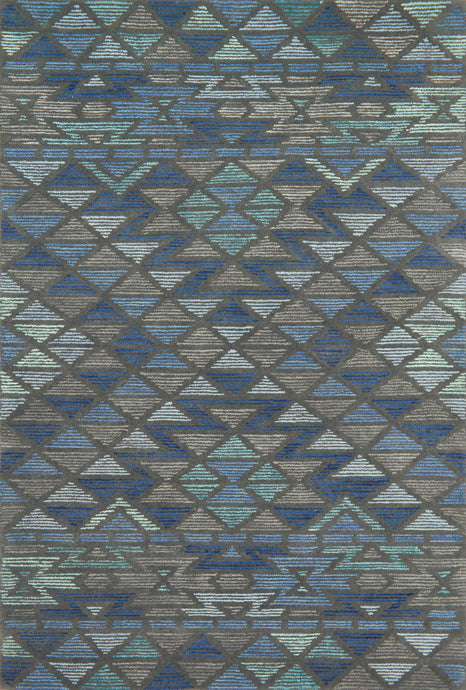 Justina Blakeney x Loloi Rug Gemology GQ-03 Navy Grey