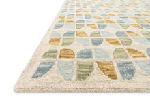 Load image into Gallery viewer, Justina Blakeney x Loloi Rug Hallu HAL-04 Ivory/Sky