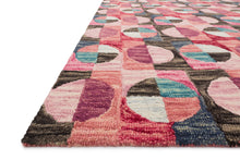 Load image into Gallery viewer, Justina Blakeney x Loloi Rug Hallu HAL-06 Berry/Charcoal