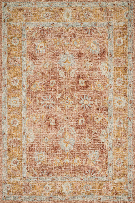 Loloi Rug Julian JI-04 Terracotta/Gold