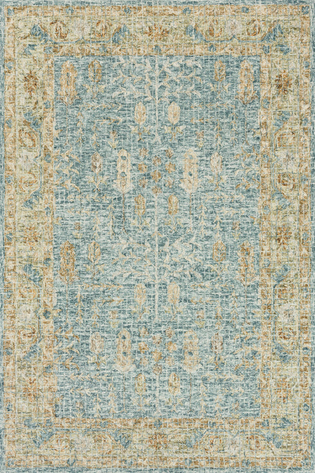 Loloi Rug Julian JI-05 Blue/Gold