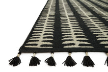 Load image into Gallery viewer, Justina Blakeney x Loloi Rug Kahelo KH-02 Black/Grey