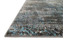 Load image into Gallery viewer, Loloi Rug Kingston KT-02 Charcoal/Blue