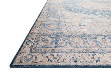 Load image into Gallery viewer, Loloi II Rug Layla LAY-07 Blue/Tangerine