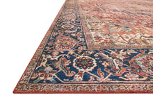 Load image into Gallery viewer, Loloi II Rug Layla LAY-08 Red/Navy