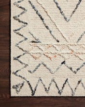 Load image into Gallery viewer, Justina Blakeney x Loloi Rug Leela Lee-02 Oatmeal/Denim