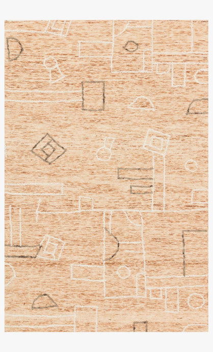 Justina Blakeney x Loloi Rug Leela Lee-05 Terracotta/Natural