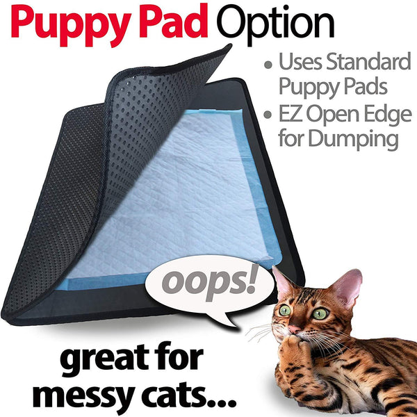 Cat Litter Trapper Mat, Traps Litter from Paws and Box (32