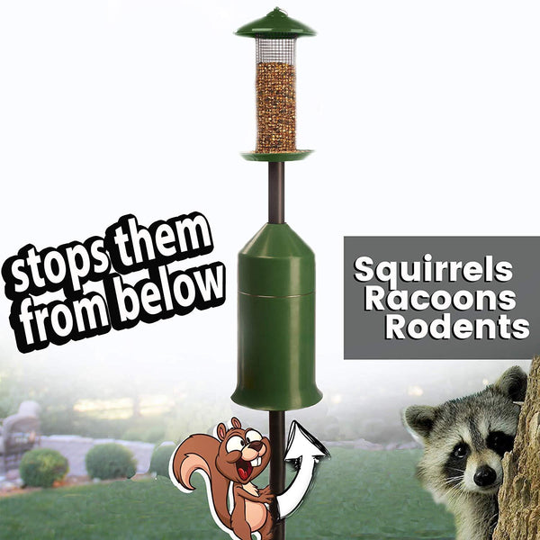 iPrimio Squirrel-Raccoon Stopper - No Tool Install with Newest Design