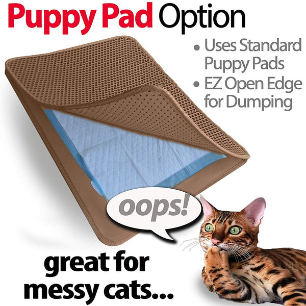 Cat Litter Trapper Mat, Traps Litter from Paws and Box (23