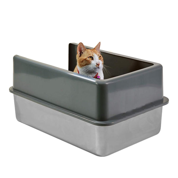 Plastic Cat Litter Box Enclosure