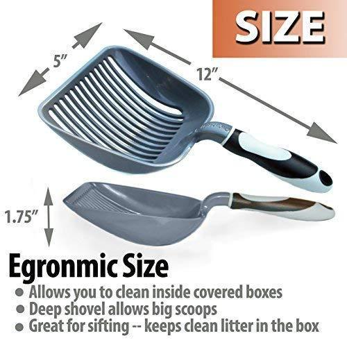 Sifter With Deep Shovel Litter Scoop (ABS Plastic)