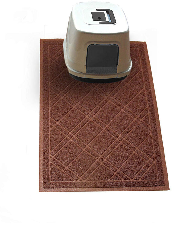 Cat Litter Trapper Mat, Traps Litter from Paws and Box (35