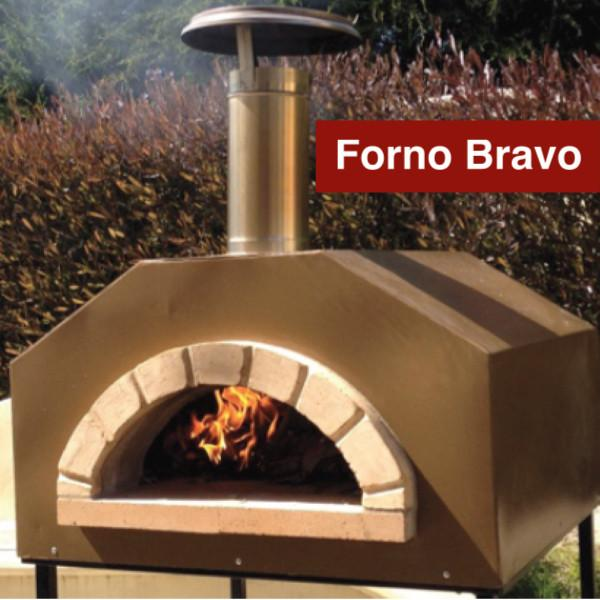 Strada Wood Fire Fully Assembled Pizza Oven By Forno Bravo
