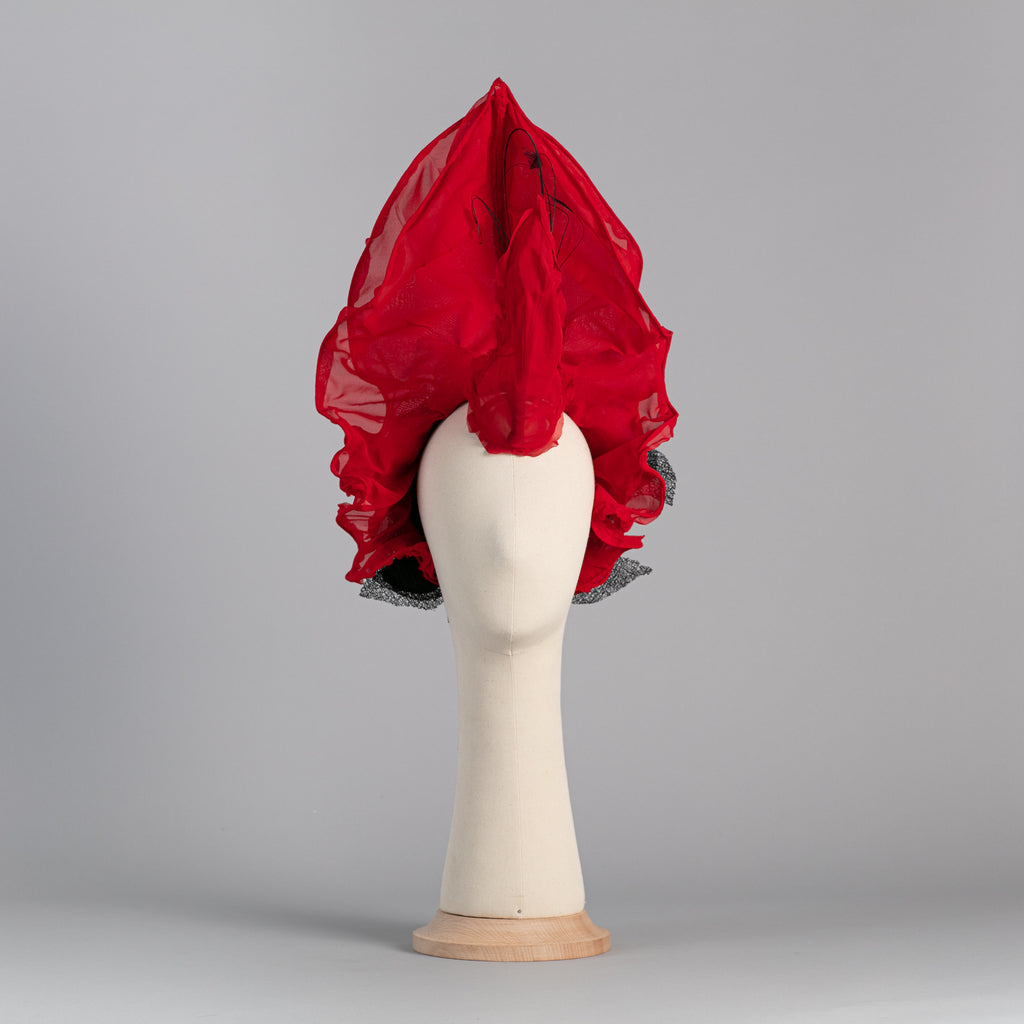 Red Ceibo Headpiece