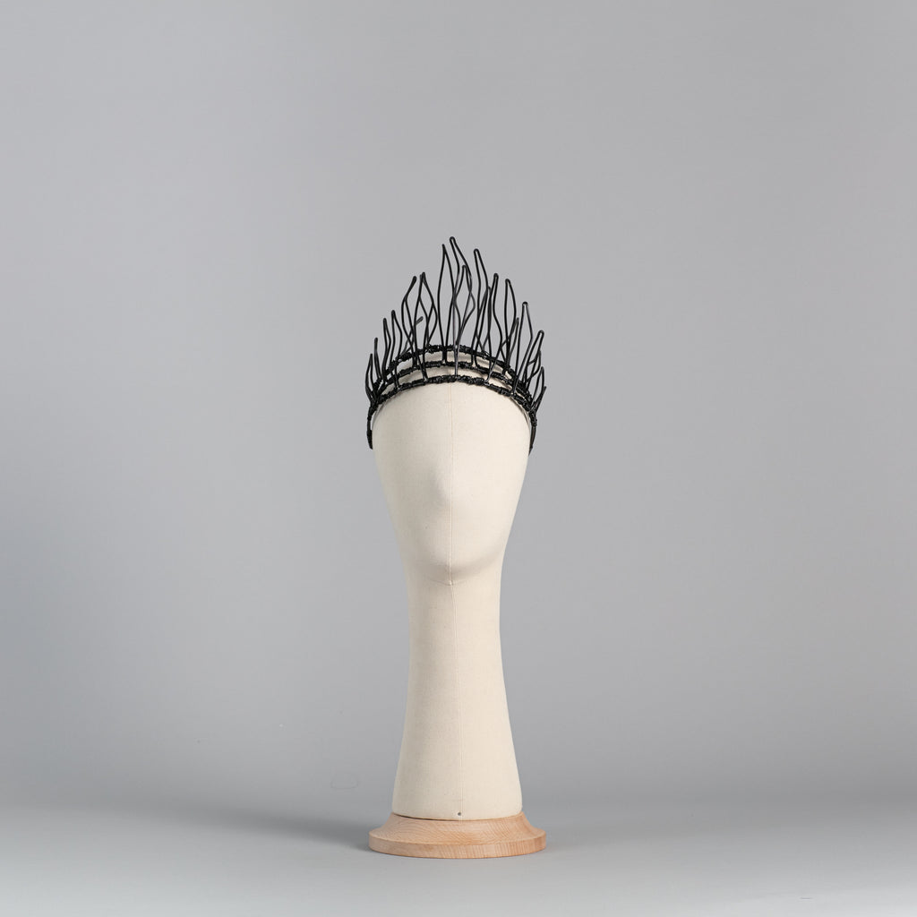 Black Wire Crown ∞ Nikole Tursi