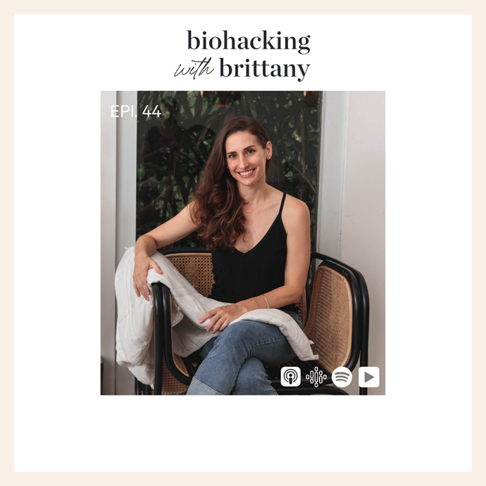 44. Entrepreneurship and Our Health, Weighted Blankets and Work-Life Balance With Elizabeth Grojean, Founder of Baloo Living