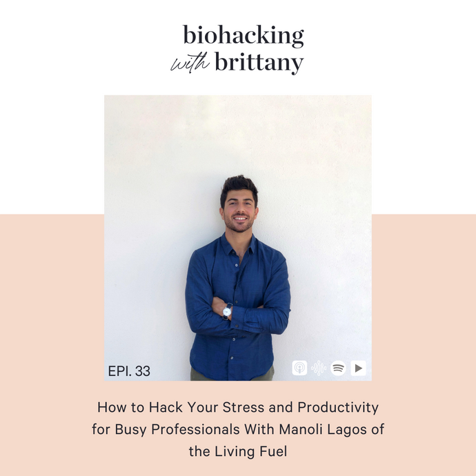 33. How to Hack Your Stress and Productivity for Busy Professionals With Manoli Lagos of the Living Fuel
