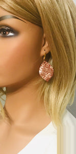 Mystic Python Leather Earrigns - E19-1061