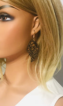 Load image into Gallery viewer, Mystic Python Leather Earrings - E19-1104