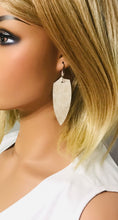 Load image into Gallery viewer, Hair On Pattern Leather Earrings - E19-1274